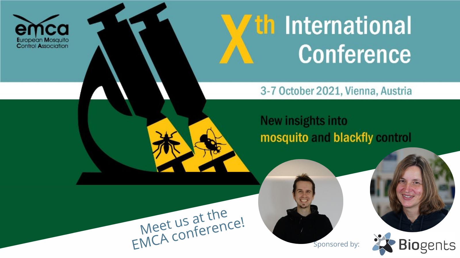 Biogents at EMCA 2021 in Vienna