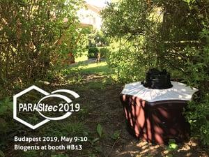 Parasitec 2019 Biogents BG-Mosquitaire mosquito trap