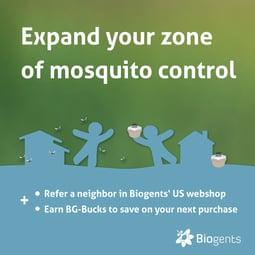 refer-a-neighbor Biogents mosquitotraps