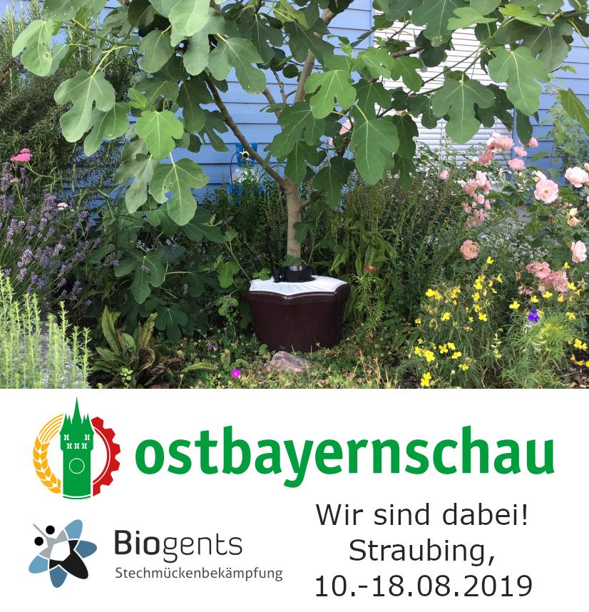 Biogents Mückenfallen Ostbayernschau 2019 Straubing