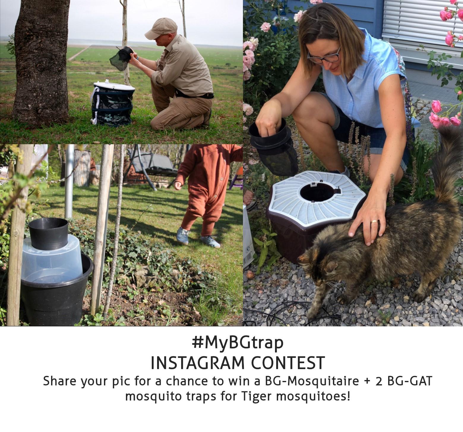 Biogents mosquito trap instagram contest