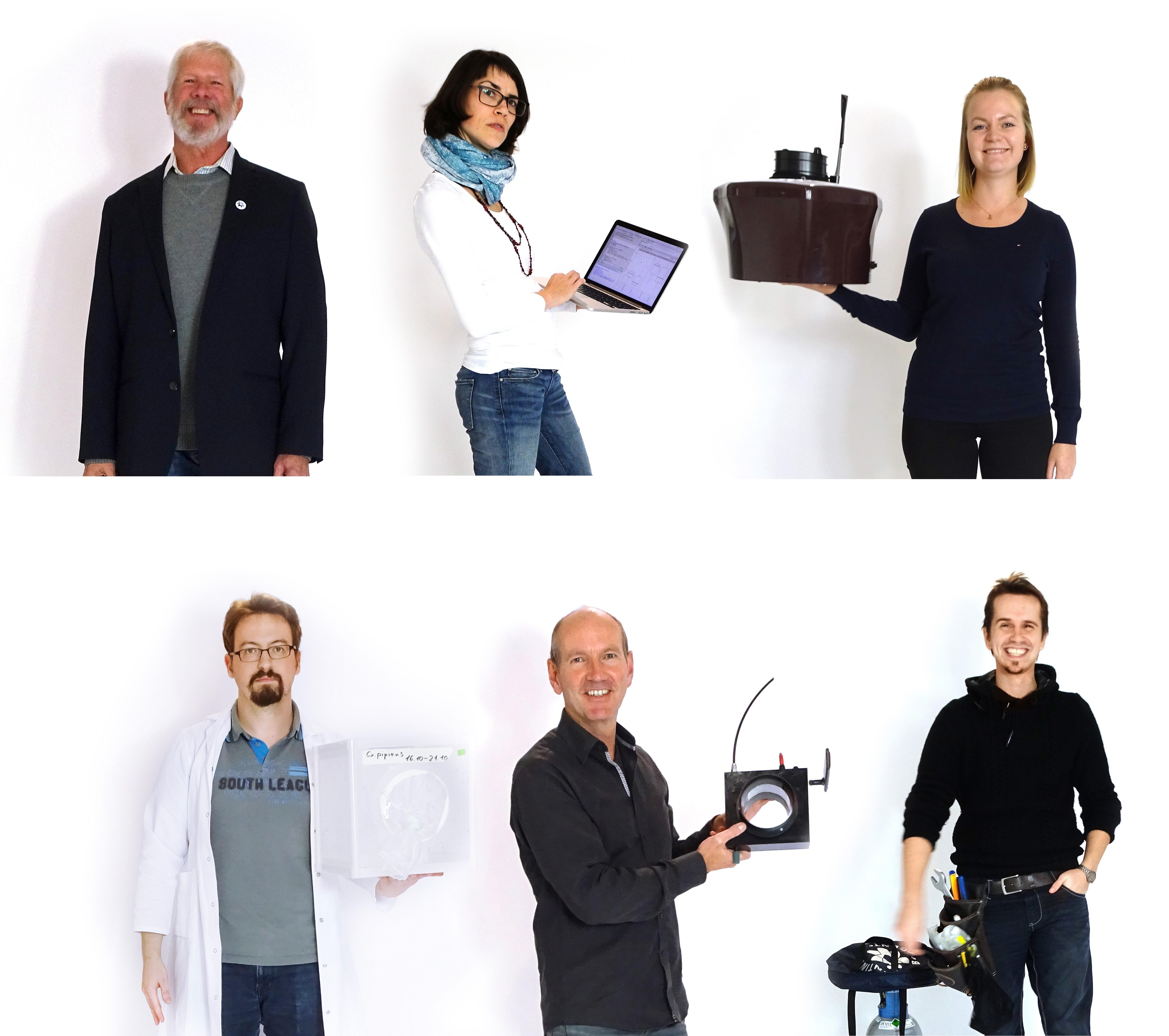 Biogents-Mitarbeiter